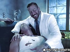 Daddy Doctor & His Big Dick Monster Fuck Nerdy Assistant