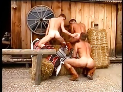 Horny Cowboys Fucking Outdoor
