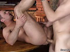 He turns into gay-slut-boy in the bar