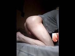 Unexpected anal cum