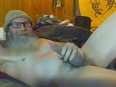 bearded dada cum time 423423 amazing