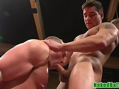 Ripped wrestler dominated and assfucked