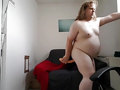 Sissy taking 12.5 inches