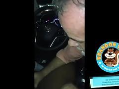 the boss sucks in the car