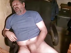 Verbal gay mature man