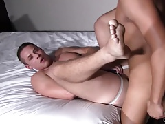 Jock's Ass Makes This Straight Jock Bust Barebacking Him