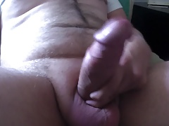 Talking dirty ready to fill you up with this uncut cock