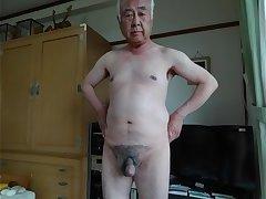 Naked male cockhead exposure