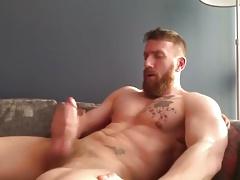 ginger beard jerk off
