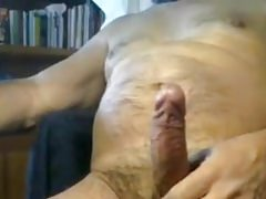 Huge and hairy uncut daddy dick