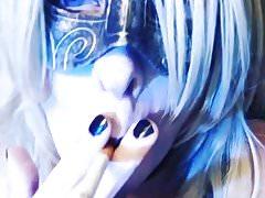 Hot Blonde Goth CD (Smoking Short)