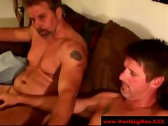 Straight truck driver goes gay for pay