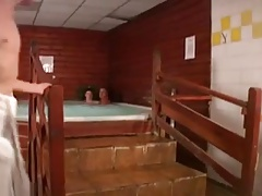 Twinks Threesome in Jacuzzi