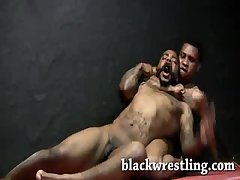Tall wrestler dominants and get dominated