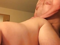 Daddy fuck by chubby guy