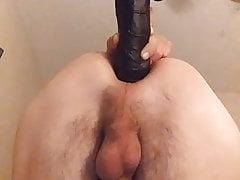 First time huge dildo