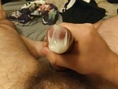 Huge load in condom