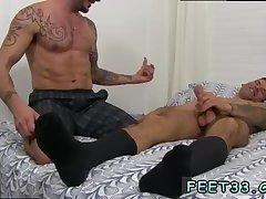 Caleb Gets A Surprise Foot Job