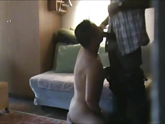 Asian sub sucks married black daddy