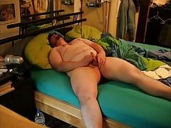 Just me masturbating