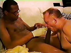 Mr.18 Inches gets his big dick sucked by a white daddy part4
