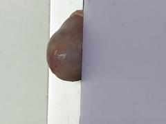 Fucking the Door Crack