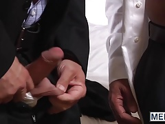 Hot Hans and David have passionate sex