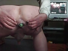 Anal aubergine - two short videos