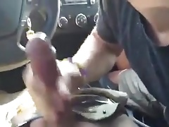 Car blow job.