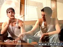 Young boys cum gay porn movies Hot straight smoker Chain introduces us to his timid but