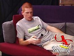 Redhead Tistian Cums Big