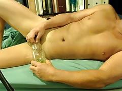 pee in a mason jar
