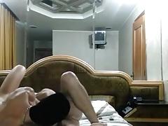 Un polvo amateur grabado en un hotel