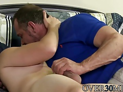 Hot ass Jason blowing Max Sargents big stiff dick then fucks