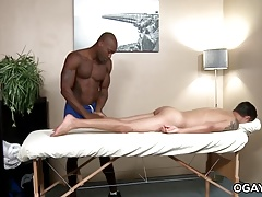 Big Black Cock Massage - Alan Kennedy, Osiris Blade