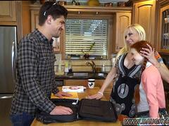 Dad teaches friends daughter lesson first time Dolly Little is in need of some tutoring
