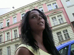 PublicAgent bitchy Czech lady penetrates on Public for Money