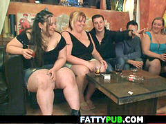 horny ginormous hooters group bbw party