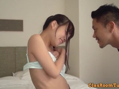 Cute Japanese Girl First Porn Video