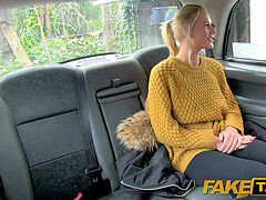 FakeTaxi gorgeous Dutch minx tries anal invasion in cab