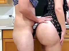 stellar Latina wife with Big bum