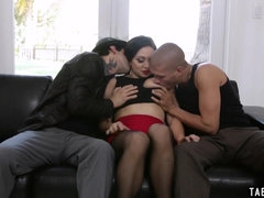 Big cocked dudes double penetrated chiefs russian wife