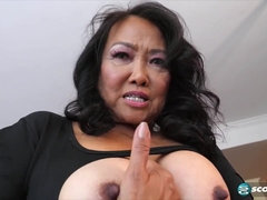 Mandy Thai is wringing her jug while milking, because it perceives much finer like that