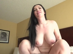 Sensual MILF With Huge Boobs Rides Huge Pecker