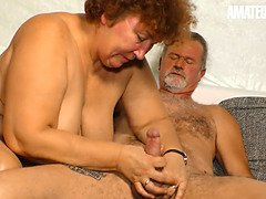 Chubby German Granny Hardcore Pussy Fuck With Old Stud