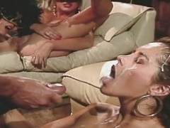 Fransesca Le and furthermore Peter North Face cumshot