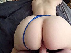 magnificent nubile with big ass poke