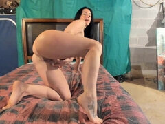 Naughty Blond Swedish Wife Works Her Mouth And Her Cunt On A Penis