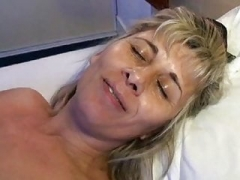 Newbie French whore getting her moist cunt brutal toyed
