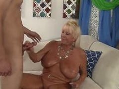 Blonde cougar wants a overweight love tool
